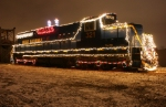 SM 321 Dressed in Christmas Lights