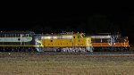 ERIE 833, UP 949, and IP 515 at the nighttime photo shoot