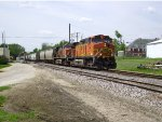 BNSF 5144 and 1018