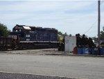 MNA 449 EX FEC switching at scrap yard