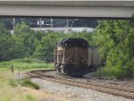 UP 6435 in the siding
