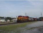 KCS 4699 Pulling empty bnsf oil train
