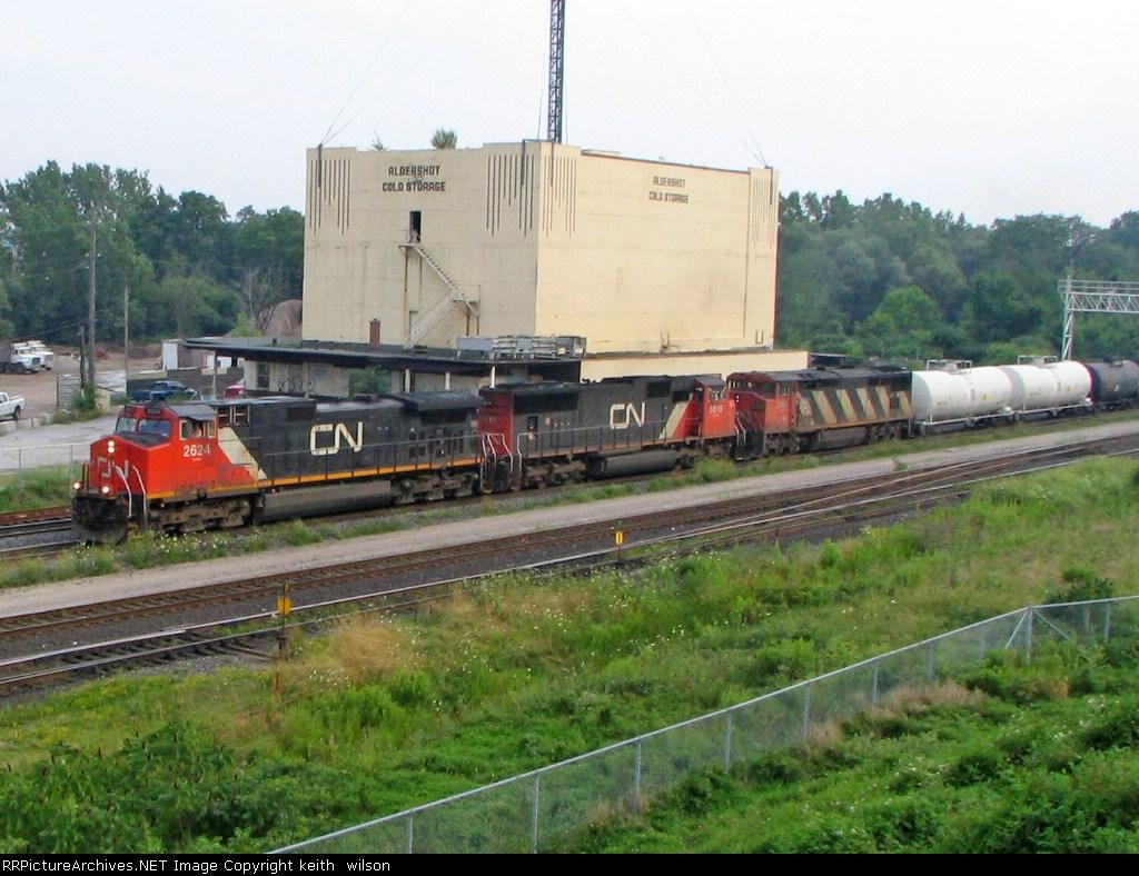 CN 2624, CN 5616 & CN 2401