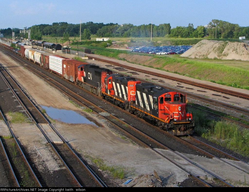 CN 4141, CN 4124 & CN 5605 POWERING UP