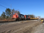 CN 4022 AND CN 7054 Running the local freight