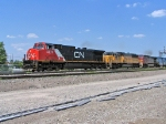CN 2573, UP 2221 & BNSF 768