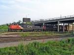CN 5800 UNDER WATERDOWN ROAD