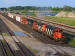 CN 4141, CN 4124 & CN 5605 FINALLY MOVING