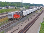 CN 2551 TRIPLE CROWN SERVICE