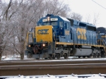 CSX 8837 Q276 9:00 am NS diamond