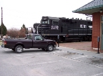 My truck with 8701