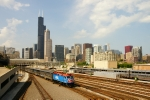 METX 197 and the Chicago Skyline