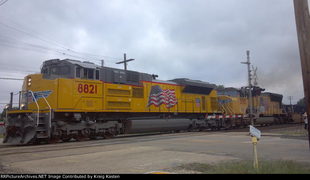 UP 8821