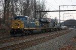 CSX ES44DC #5377 on Q174-17