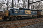 CSX GP40-2 #4422 on Q409-18