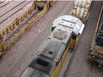 SD70M roof shot