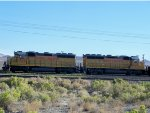 Union Pacific UP 1528 and UP 1450