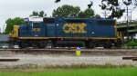CSX GP38-2 Resting
