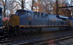 CSX ES44AH 3053 trails on Q410-14