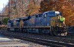 CSX ES44AH 753 trails on Q418-17