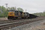 CSX 7806 & 7774 pull up the Coach Lead with K901-09