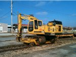 Arkansas & Missouri Railroad MOW Backhoe