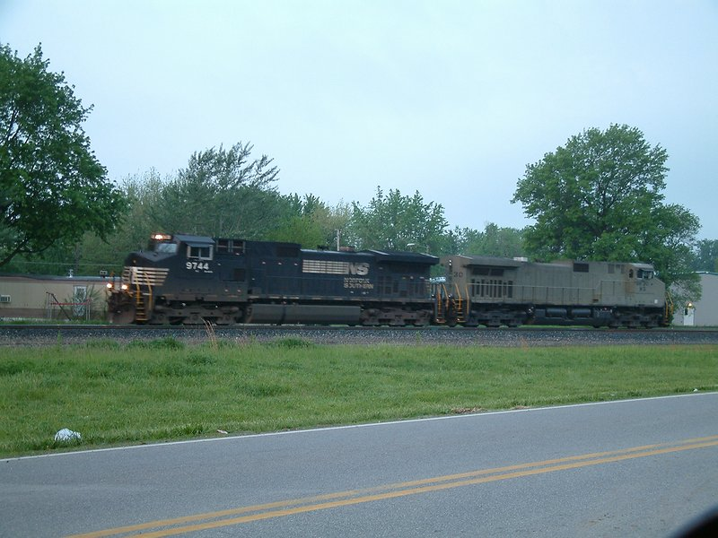Grain train power