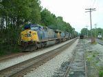 Loaded coal train on the CV Sub