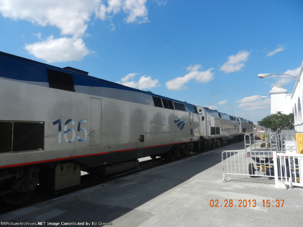 Train 98, Northbound Silver Meteor