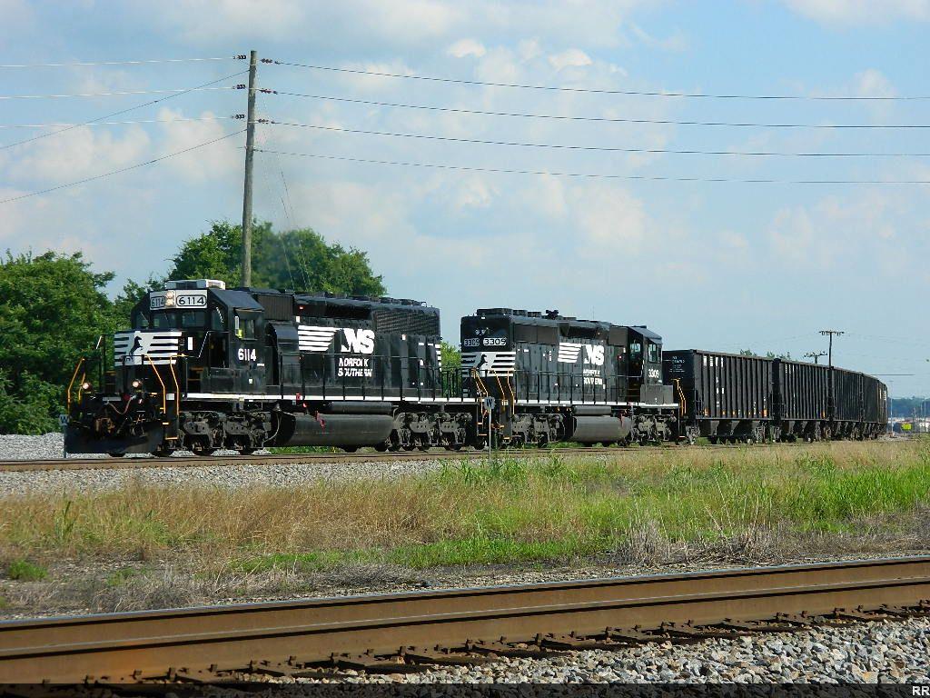 NS 6114(SD40-2) 3309(SD40-2)