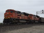 BNSF 9141 Pulling TXUX coal