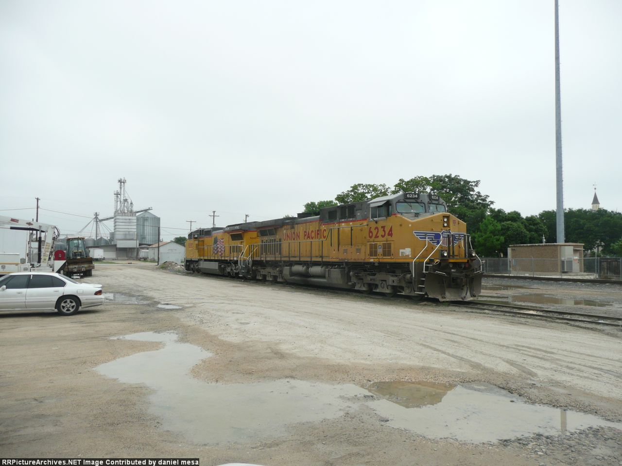 New Braunfels RR Yard