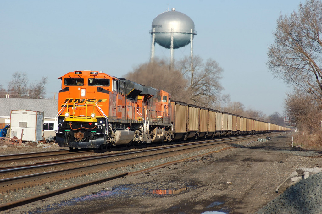 New BNSF on NS