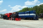 "Stone Mountain RR ""General II"" and GaRR 1026"