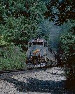 SBD train #FHLER, north of Byrd Tunnel.