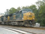 CSX locomotives 276 and 7806 in Crawford, FL