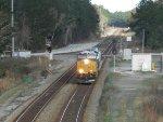 CSX locomotive 3057