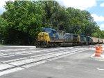 CSX locomotive 641 and locomotive 4314