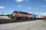 WC 7502 with DWP 5908 on A40781-21 at Stevens Point, WI.