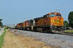 BNSF 526 And other's waite on the local.