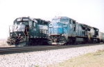 NS 8341 (patched Conrail) & NS 5515