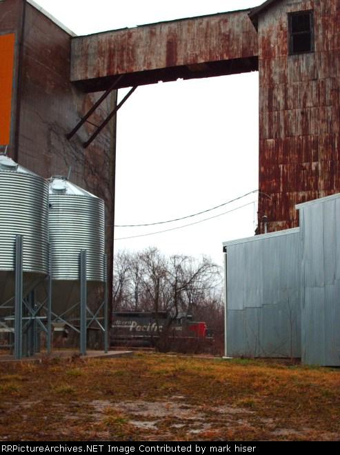 Looking through Eschleman Grain