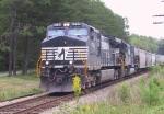 NS 9720 leads a grain train