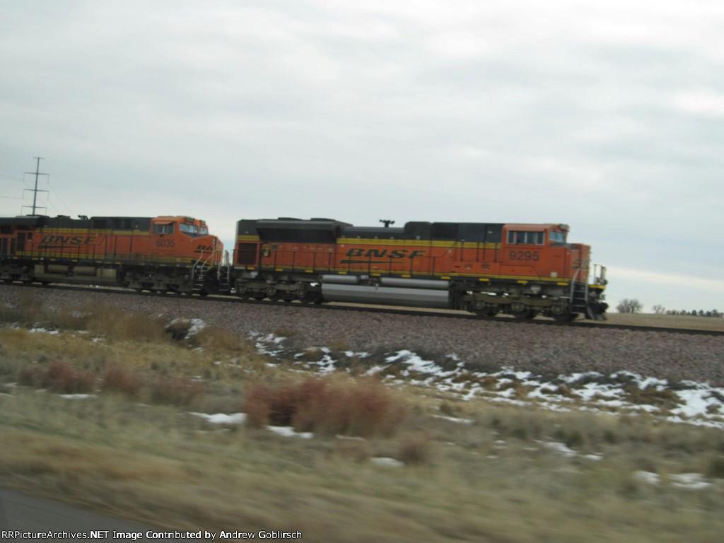 BNSF 9295 & 6035