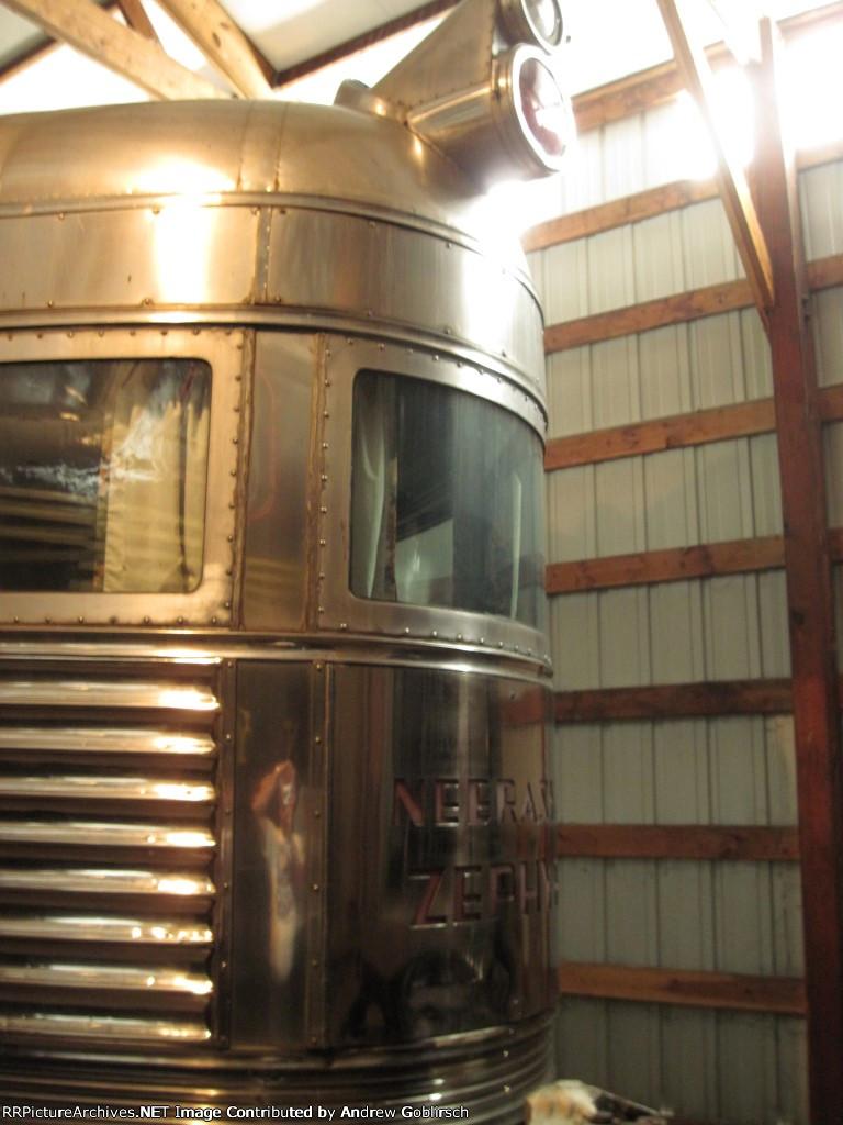 CBQ 225 Passenger Car inside