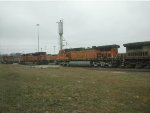 BNSF 4566, 9238 & More
