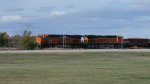 BNSF 6393, 7359 & Hopper Cars