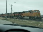 BNSF 8817 & 5 Other Engines
