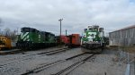MNTX Engines, Freight Cars & NP 328 Tender