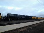 UP Big Boy 4014 & 4884 cloudy morning
